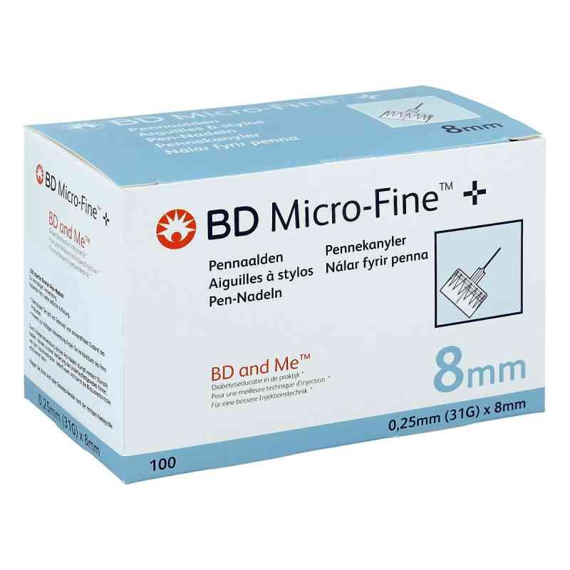 Bd Micro Fine+ 8 mm Nadeln 0,25x8 mm  zamów na apo-discounter.pl
