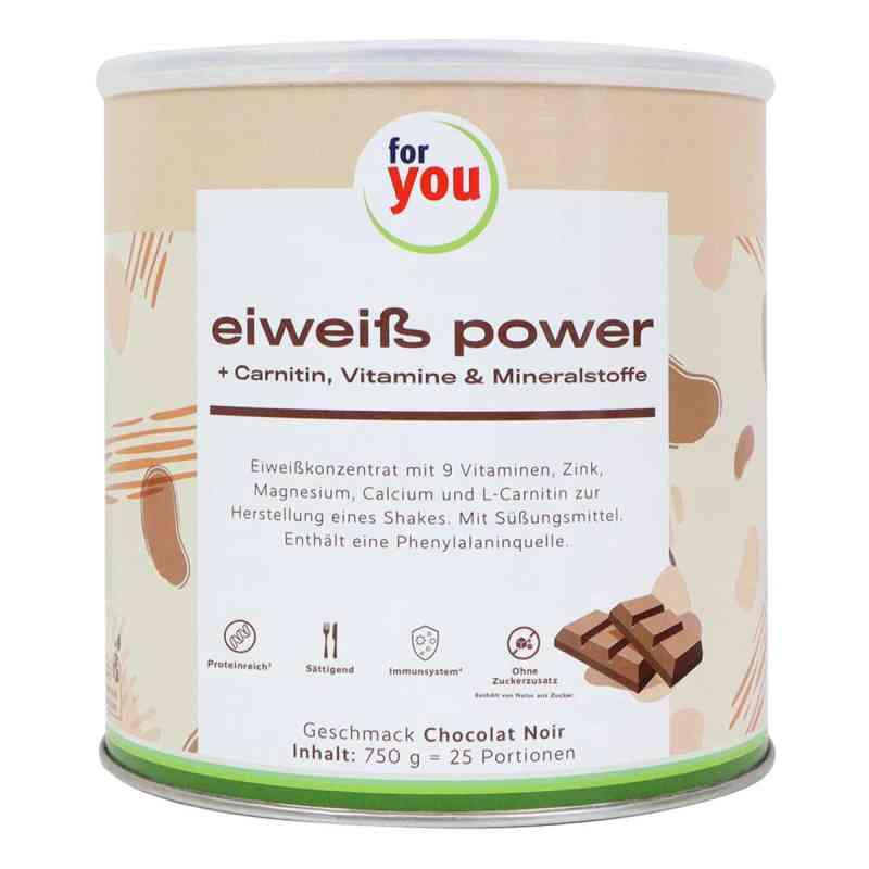 For You Eiweiss Power czekolada 750 g od For You eHealth GmbH PZN 06944920