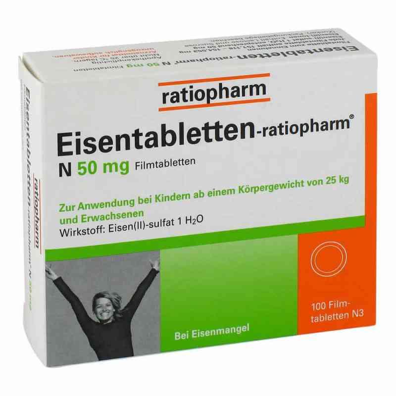 Eisentabletten ratiopharm N tabletki powlekane 50 mg  zamów na apo-discounter.pl