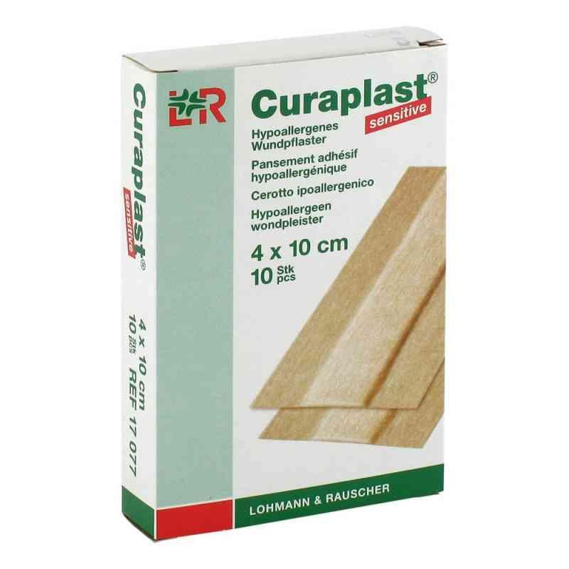 Curaplast sensitive Wundschn.verband 4x10cm  zamów na apo-discounter.pl