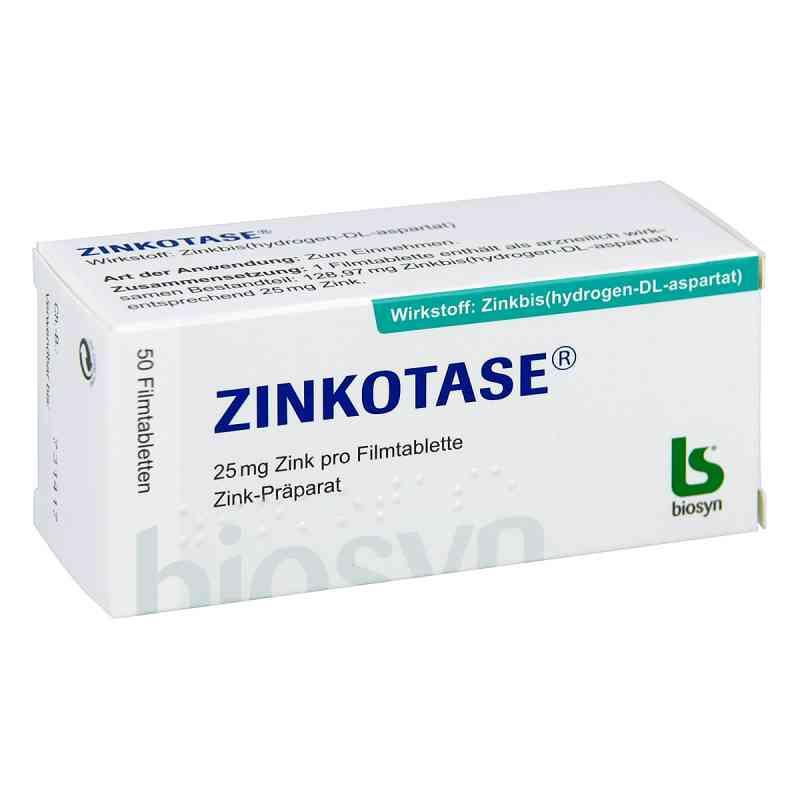 Zinkotase Filmtabl.  zamów na apo-discounter.pl