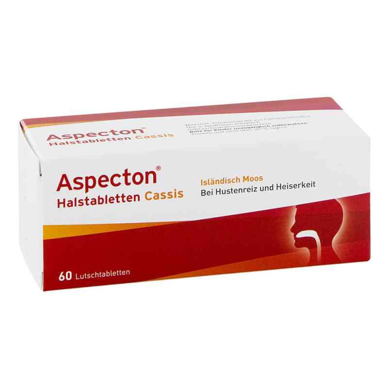 Aspecton Halstabletten Cassis tabletki na gardło i chrypkę  zamów na apo-discounter.pl