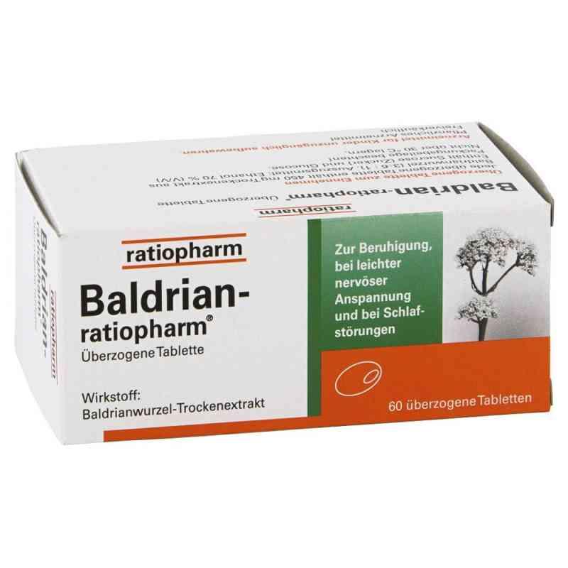 Baldrian Ratiopharm tabletki powlekane   zamów na apo-discounter.pl