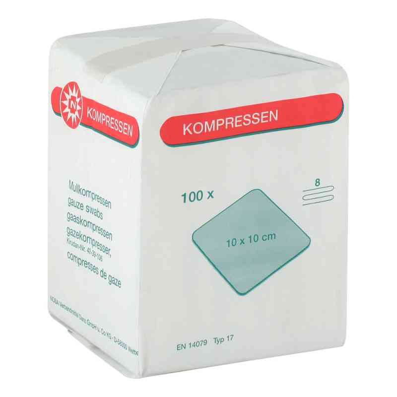 Mullkompressen 10x10cm 8-fach unsteril  zamów na apo-discounter.pl