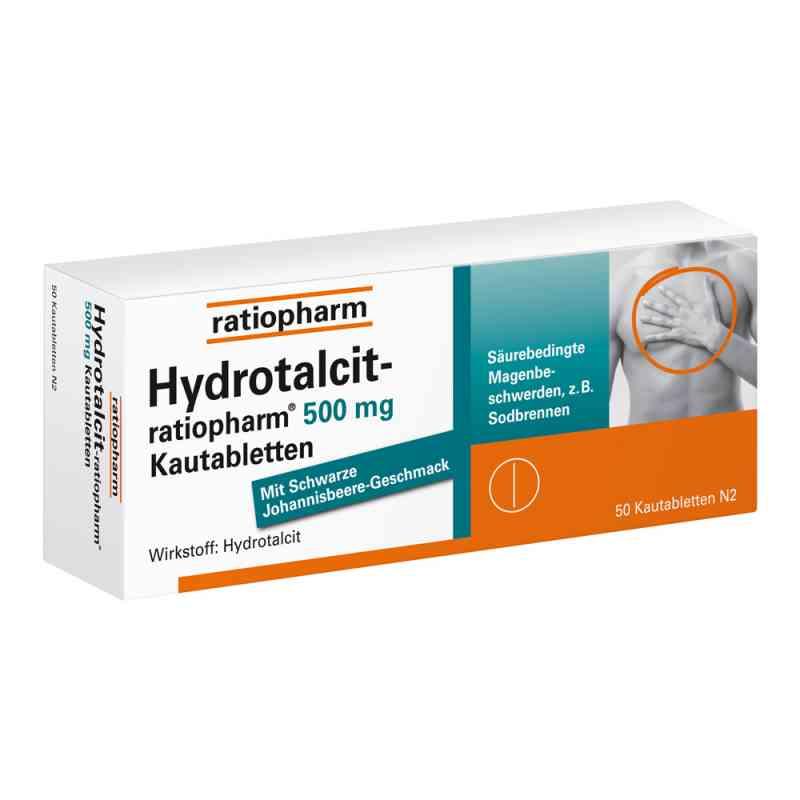 Hydrotalcit ratiopharm 500 mg Kautabl. zamów na apo-discounter.pl