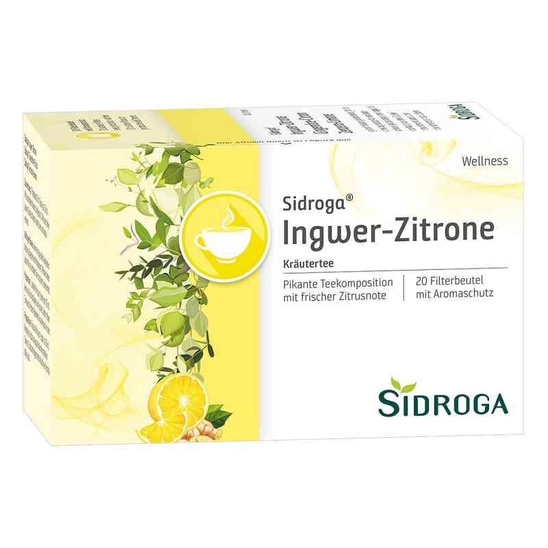 Sidroga Wellness Ingwer Zitrone Btl.  zamów na apo-discounter.pl
