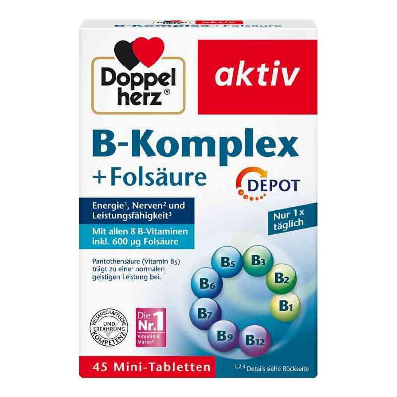 Doppelherz B Komplex + kwas foliowy depot tabletki  zamów na apo-discounter.pl