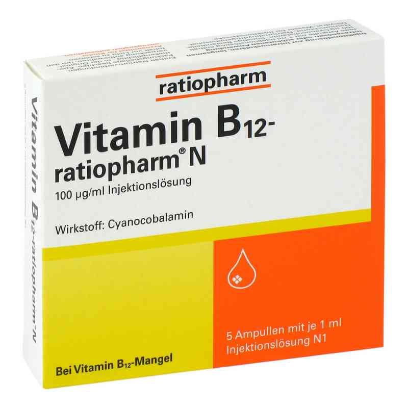 Vitamin B 12 ratiopharm N Amp. zamów na apo-discounter.pl
