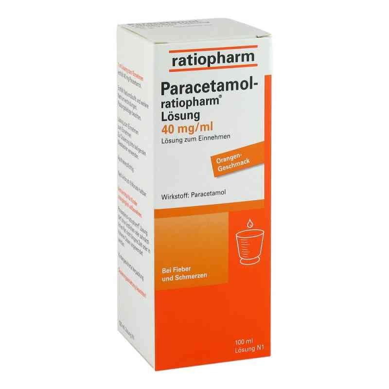 Ratiopharm Paracetamol roztwór 40mg/ ml  zamów na apo-discounter.pl