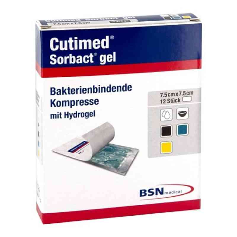 Cutimed Sorbact Gel kompresy 7,5 x 7,5 cm 12 szt. od BSN medical GmbH PZN 07353434