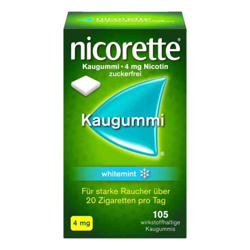 Nicorette Kaugummi 4 mg whitemint  zamów na apo-discounter.pl