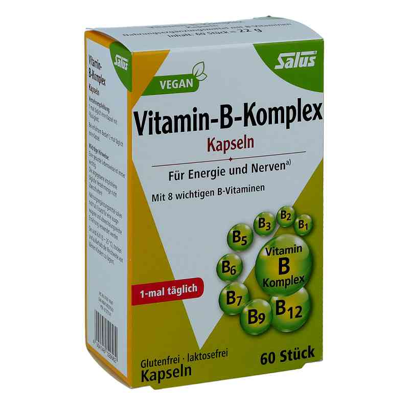Vitamin B Komplex vegetabile Kapseln Salus zamów na apo-discounter.pl