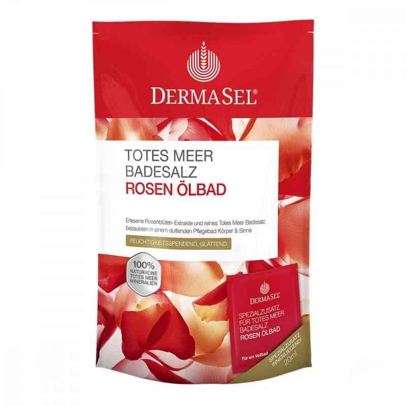 Dermasel sól do kąpieli z Morza Martwego z olejkiem różanym  zamów na apo-discounter.pl