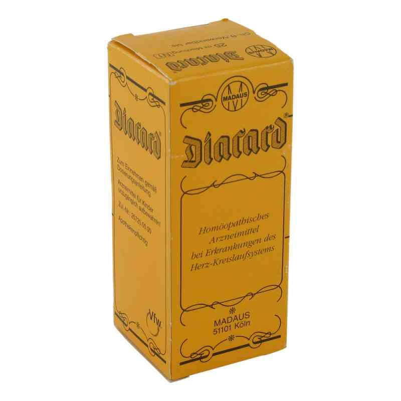 Diacard  krople 25 ml od MEDA Pharma GmbH & Co.KG PZN 07418406