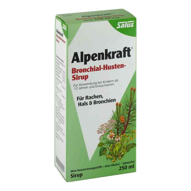 Alpenkraft Bronch Husten Sirup zamów na apo-discounter.pl