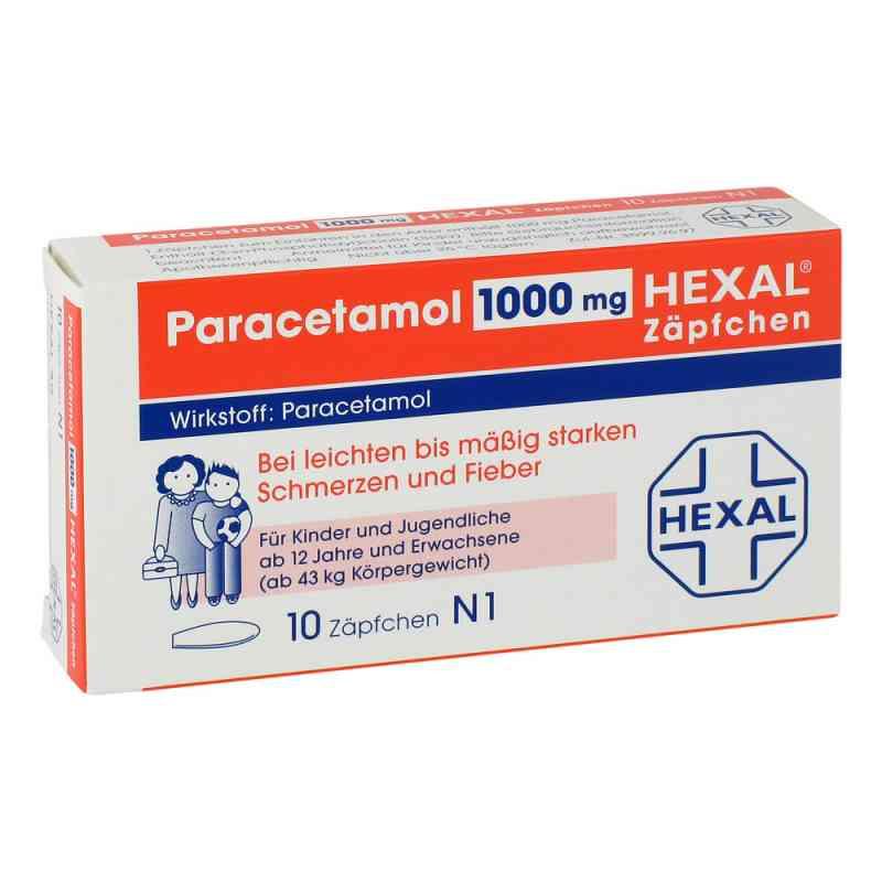 Paracetamol 1000 Hexal Zaepfchen  zamów na apo-discounter.pl