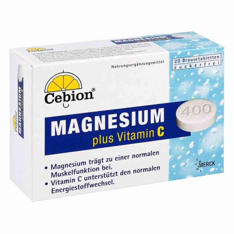 Cebion Plus Magnesium 400 tabletki musujące  zamów na apo-discounter.pl