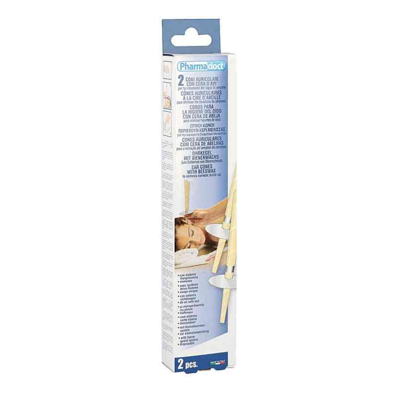 Świece do uszu z woskiem pszczelim 2 szt. od Axisis GmbH PZN 07567402