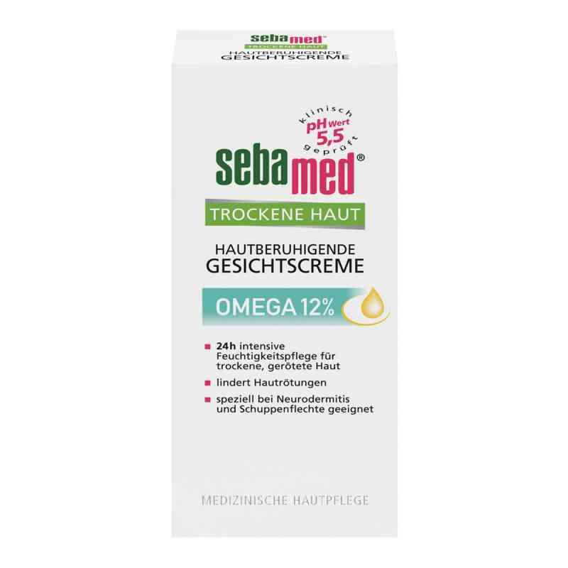 Sebamed krem do twarzy skóra sucha 12% Omega-6 zamów na apo-discounter.pl
