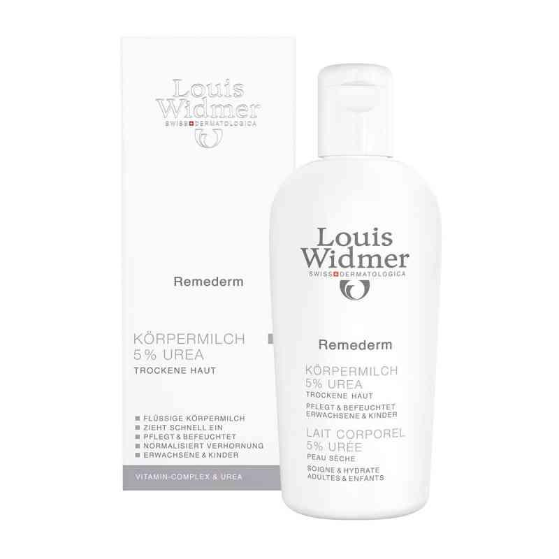 Louis Widmer Remederm mleczko do ciała 5% mocznik  zamów na apo-discounter.pl