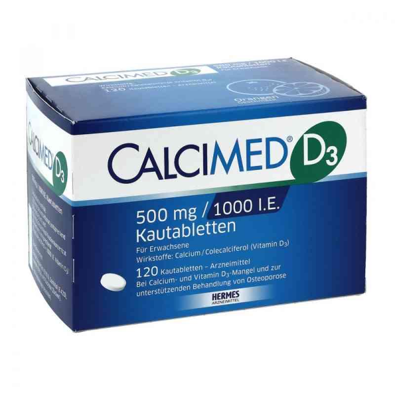 Calcimed D3 500 mg/1000 I.e. Kautabletten zamów na apo-discounter.pl