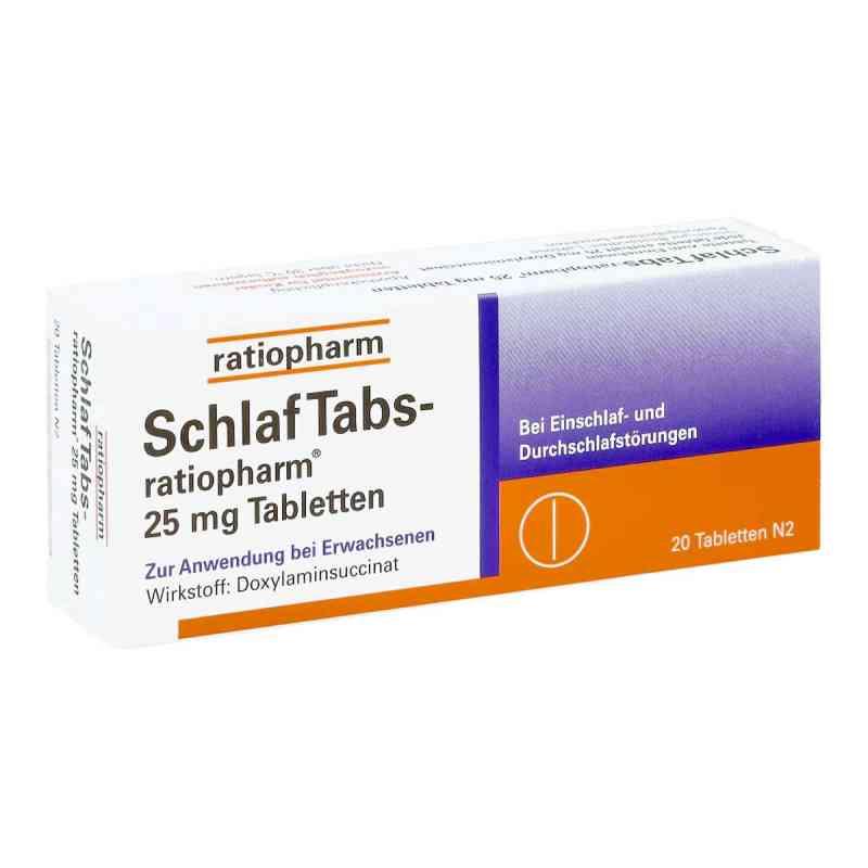 Schlaf Tabs ratiopharm 25 mg Tabl. zamów na apo-discounter.pl