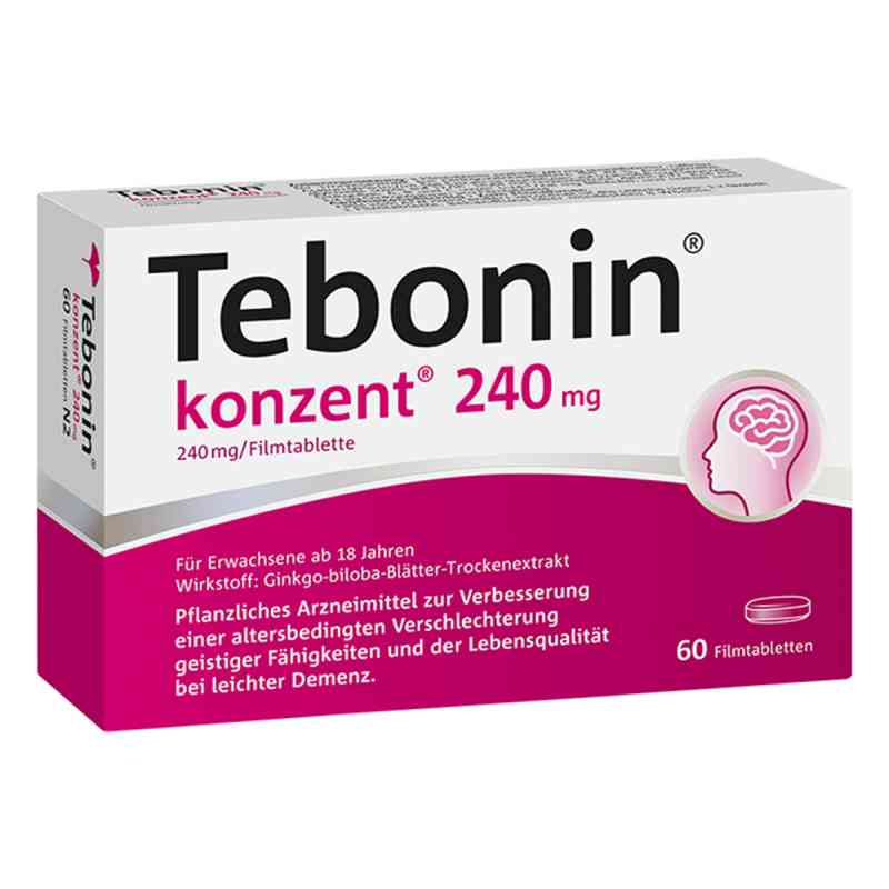Tebonin konzent 240 mg Filmtabl.  zamów na apo-discounter.pl