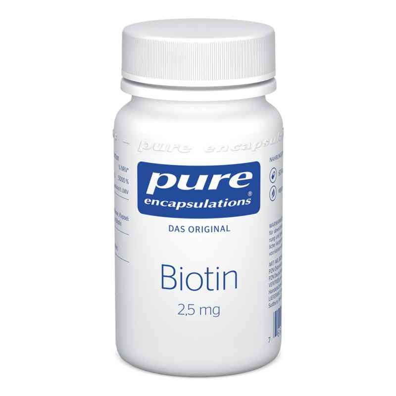 Pure Encapsulations Biotin 2,5 mg kapsułki  zamów na apo-discounter.pl