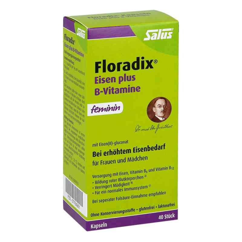 Floradix żelazo i wit. B w kapsułkach zamów na apo-discounter.pl