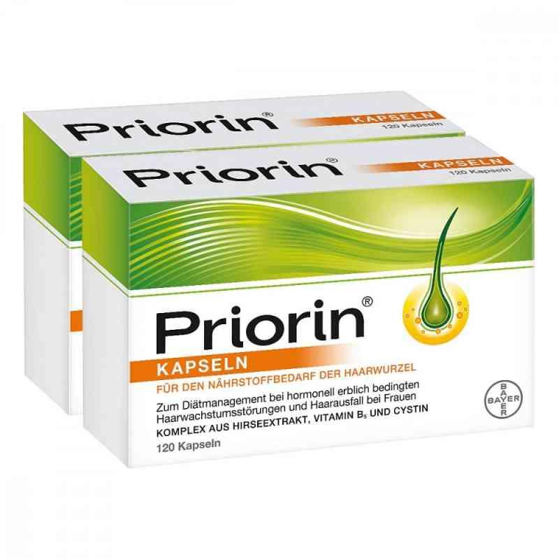 Priorin 2x120 zestaw na wypadanie włosów  zamów na apo-discounter.pl