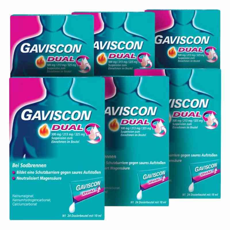 GAVISCON Dual 500 mg, 213 mg, 325 mg Susp. Dosierbeutel zamów na apo-discounter.pl