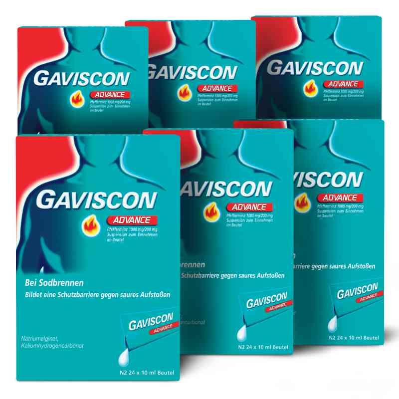 GAVISCON Advance Pfefferminz Susp. Dosierbeutel  zamów na apo-discounter.pl