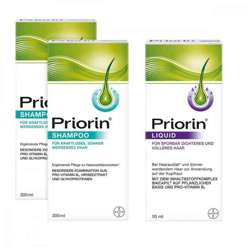 2x Priorin Shampoo  Priorin Liquid Pumplösung zamów na apo-discounter.pl