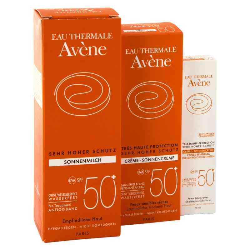 Avene Sunsitive  50 zestaw przeciwsłoneczny zamów na apo-discounter.pl