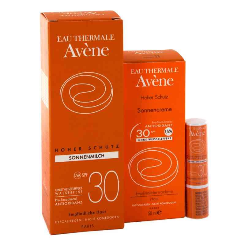 Avene Sunsitive zestaw przeciwsłoneczny SPF 30  zamów na apo-discounter.pl