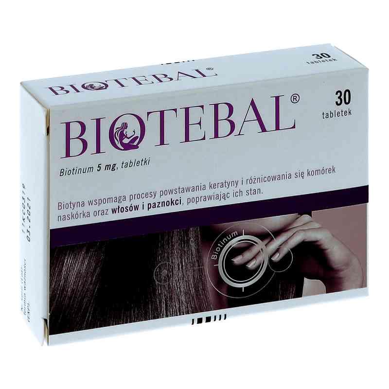 Biotebal 5 mg tabletki  zamów na apo-discounter.pl