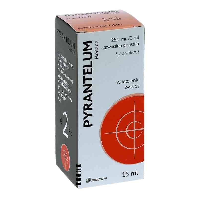 Pyrantelum Medana zawiesina doustna 0,25g/5ml  zamów na apo-discounter.pl