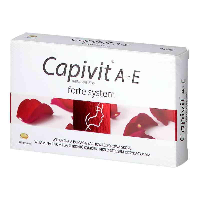 Capivit A+E forte system kapsułki  zamów na apo-discounter.pl
