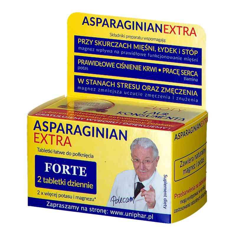 Asparaginian Extra Uniphar Magnez Potas tabletki  zamów na apo-discounter.pl