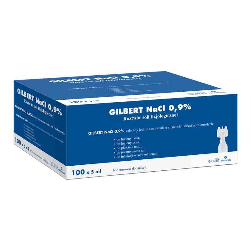 Gilbert Natrium chloratum 0,9% roztwór soli fizjologicznej  zamów na apo-discounter.pl