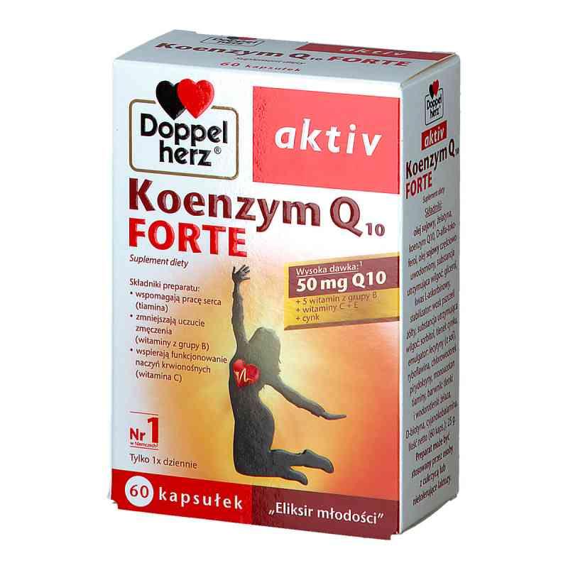 Doppelherz aktiv Koenzym Q10 Forte kapsułki  zamów na apo-discounter.pl