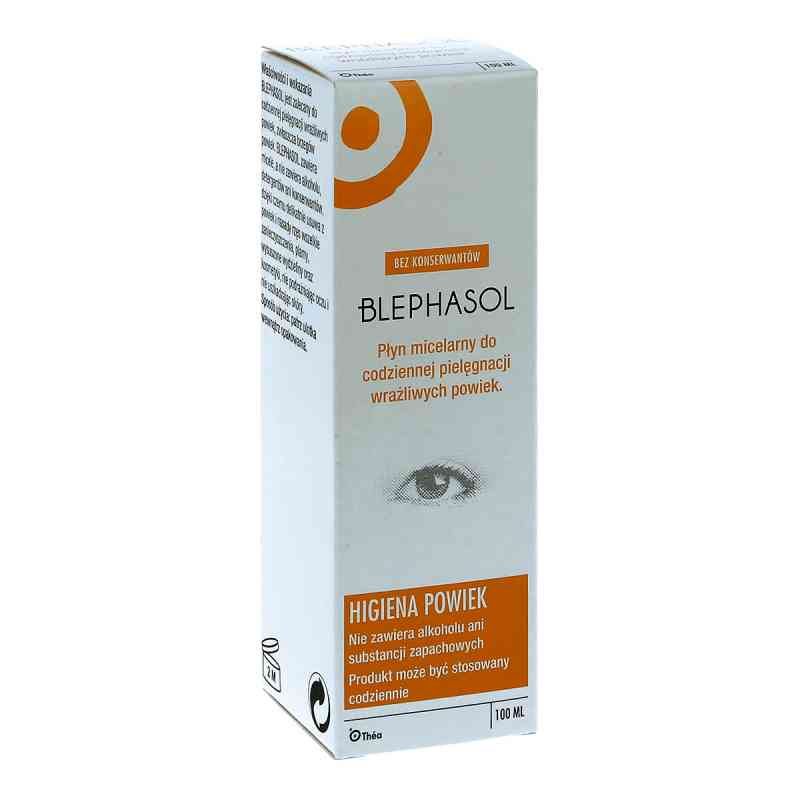 Blephasol płyn micelarny do pielęgnacji wrażliwych powiek  zamów na apo-discounter.pl