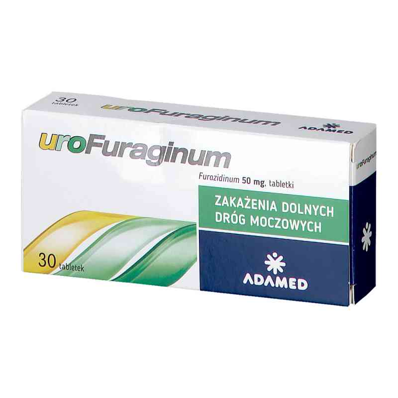 Urofuraginum 50 mg tabletki  zamów na apo-discounter.pl