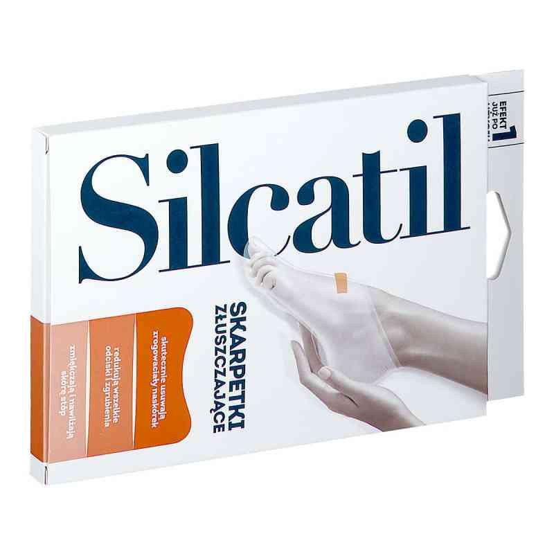 Silcatil skarpetki złuszczające na stopy  zamów na apo-discounter.pl