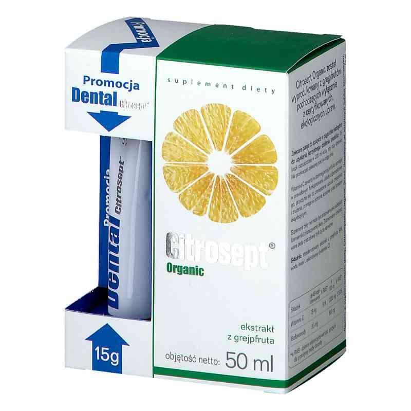 Citrosept Organic + Citrosept Dental żel 15 g  zamów na apo-discounter.pl