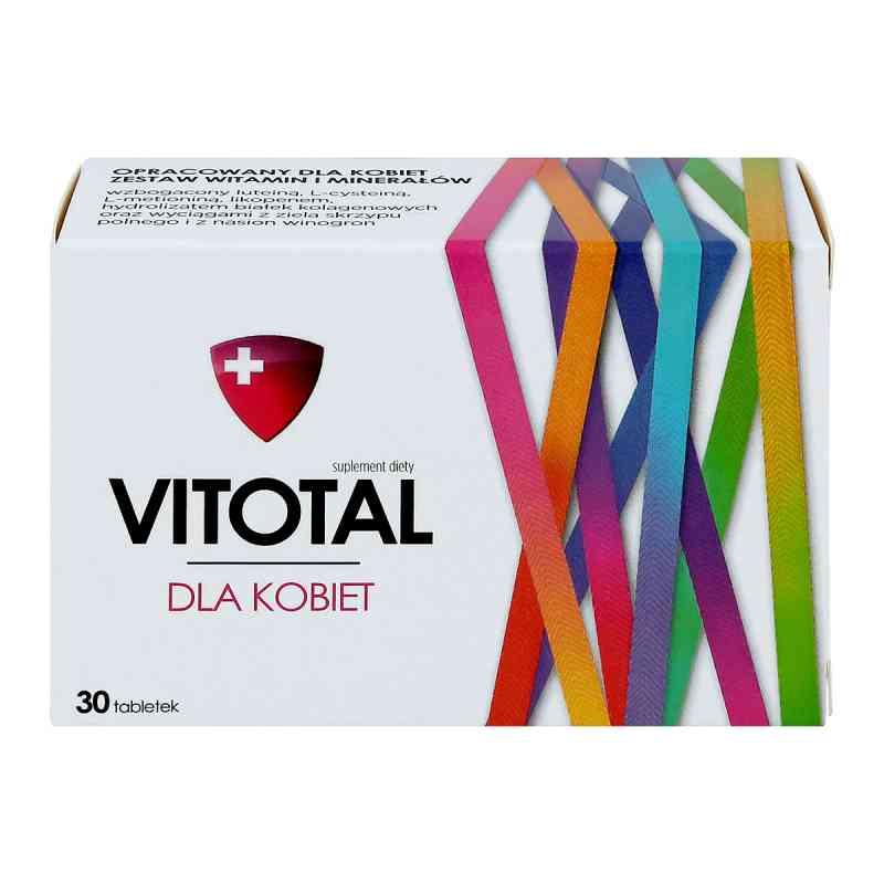 Vitotal dla kobiet tabletki  zamów na apo-discounter.pl