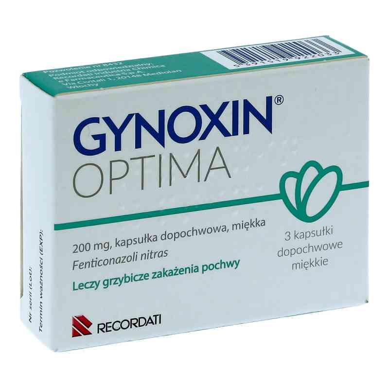 Gynoxin Optima 200mg kapsułki dopochwowe  zamów na apo-discounter.pl