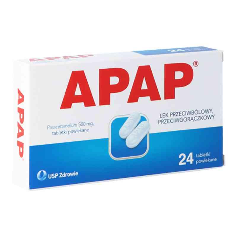 Apap 500 mg tabletki  zamów na apo-discounter.pl