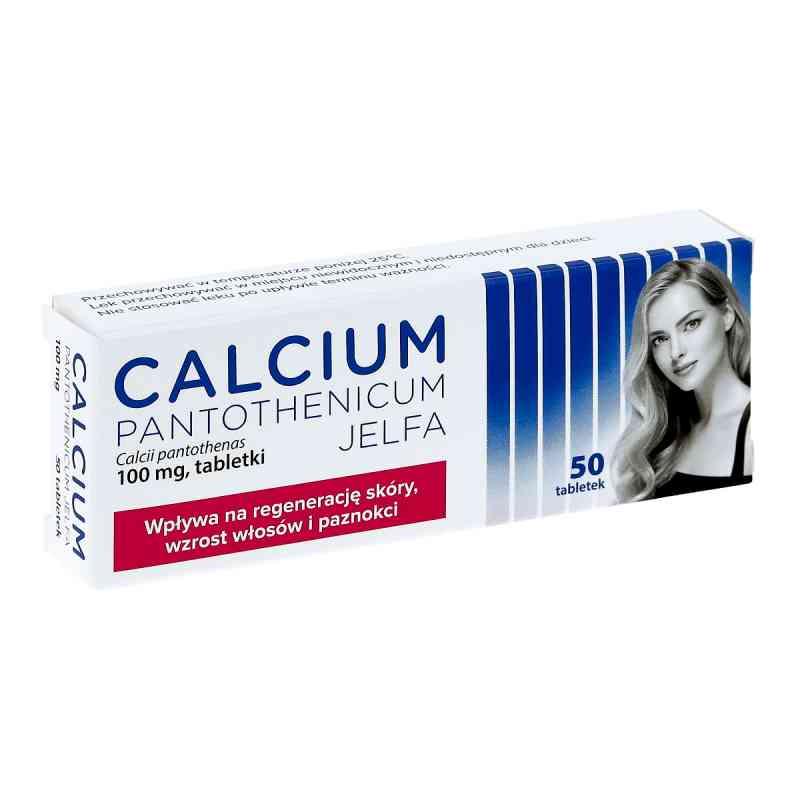 Calcium pantothenicum Jelfa 100 mg tabletki  zamów na apo-discounter.pl