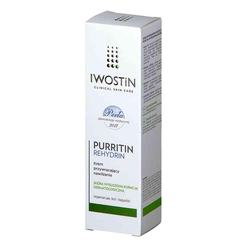 Iwostin Purritin Rehydrin krem przywracający nawilżenie  zamów na apo-discounter.pl